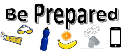 Be prepared graphic